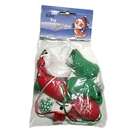 Kitty Cat Christmas Mice 6 Pack